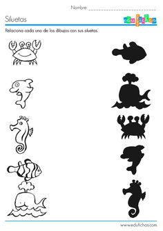 Crafts,Actvities and Worksheets for Preschool,Toddler and Kindergarten.Lots of worksheets and coloring pages. Fun Worksheets For Kids, Animal Worksheets, Kindergarten Worksheets, Addition Worksheets, Preschool Learning Activities, Preschool Activities, Kids Learning, Summer Activities, Kids Education
