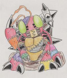 Digimon Adventure Halloween   FanArt  Tentomon