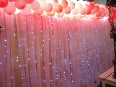 Diy Party Decorations, Balloon Decorations, Party Themes, 1st Birthday Party For Girls, Fairy Birthday Party, Birthday Ideas, Tiffany Sweet 16, Birthday Wallpaper, Wedding Bubbles