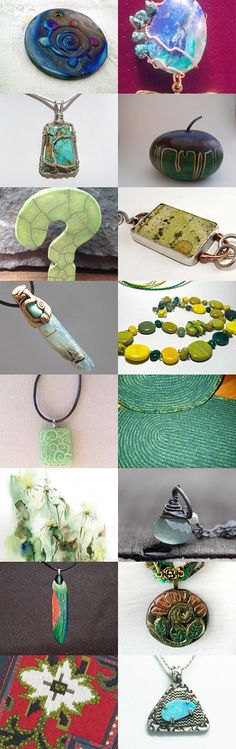 Yellow, green and blue by Lance Timco on Etsy--Pinned with TreasuryPin.com #Etsyvintage #Estyhandmade #summerfinds