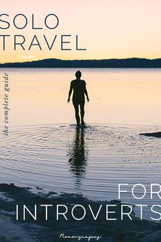travel alone Discover how you can leverage your strengths as an introvert (and overcome while traveling alone with these solo travel tips for introverts. Solo Travel Tips, Travel Advice, Travel Guides, Travel Packing, Travel Info, Packing Tips, Travel Deals, Time Travel, Top Travel Destinations