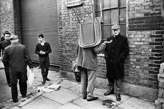 Credit: Tony Ray-Jones/National Media Museum Brick Lane Market, 1966