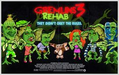 Gremlins 3 - Rehab Project by Butcher Billy by Butcher Billy, via Behance