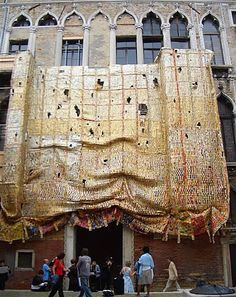 Installation at Palazzo Fortuny, Venice, 2007, as part of the exhibition 'Artempo - Where Art Becomes Time'
