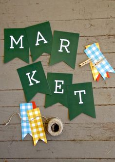 market printable
