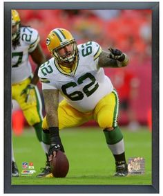 "Evan Dietrich-Smith 2013 Green Bay Packers-11"" x14"" Photo Glassless Sports Frame"