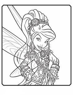 Iridessa As A Pirate Fairy In The Upcoming Disney Tinkerbell And