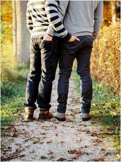 Siegrid cain stylish gay couple autumn engagement Austria analogue