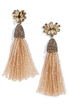 aurora tassel drop earrings