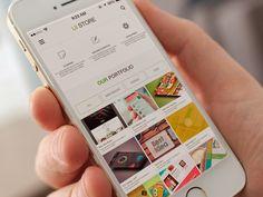 Web Ui Store Template