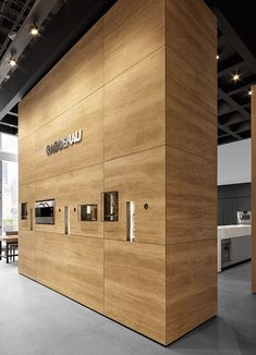Live cooking zones and 20-foot-ceilings define Gaggenau's new Merchandise Mart showroom. Image courtesy of Gaggenau.  Luxury home appliance brand Gaggenau has... #LuxuryHomeAppliances