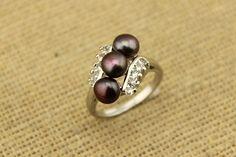 30% off Freshwater Pearl Rings by DIYArtMall,$3.5 Pearl Rings, Gemstone Rings, Wedding Jewelry, Wedding Rings, Solitaire Ring, Ring Earrings, Statement Rings, Fresh Water, Gifts For Women