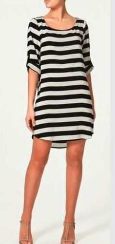 #stripedress Love this dress! #stitchfixspringsummer #stitchfixdress #personalstylist Want to try your own personal stylist for only $20 with Stitch Fix? Then your $20 styling is applied towards your purchase, plus free shipping both ways! Use referral code to get directly connected with your own Stitch Fix personal stylist: https://www.stitchfix.com/referral/4163716