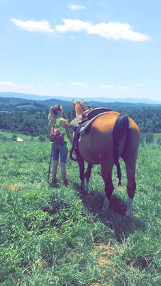 If a dog is a mans best friend then I guess horses are a girls best friend Love my boy❤️