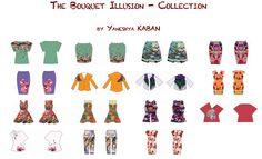 """""""The bouquet Illusions"""".. Fashion collection!"""