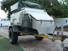 Off-Road Camping Trailers | 2010 Mission off-road camping trailer - caravan / rvs / wagons ...