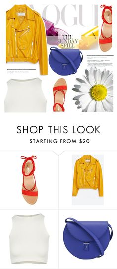"""""""Abstraction"""" by pattykake ❤ liked on Polyvore featuring Vince Camuto, Zara, Free People and PB 0110"""