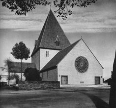 Church Christus König (r.c.), Hamminkeln-Ringenberg, NRW, Germany I built in 1934-1936 by Dominikus Böhm