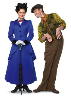 Supercalifragilisticexpialidocious: Ashley Brown is Mary Poppins and Gavin Lee is Bert in the stage production of the Disney classic. Broadway Costumes, Theatre Costumes, Cool Costumes, Costume Ideas, Cosplay Ideas, Mary Poppins Broadway, Mary Poppins Musical, Broadway Theatre, Musical Theatre
