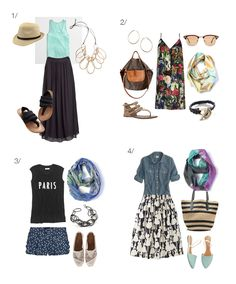summer style: 8 outfits to wear to a picnic via megan auman
