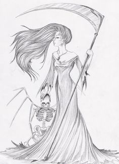 The 17 best female grim reaper images on Pinterest