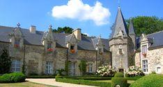 Casinha colorida: Se me chamar, eu vou: Rochefort-en-Terre, França