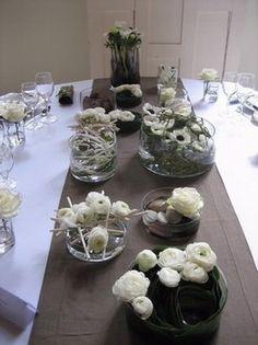 location de coupe pour centre de table mariage