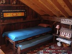 Upper Level Carriage House ~ Sleeping area