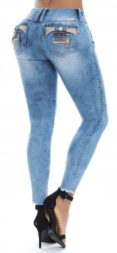 beb2f07be9 Jeans levanta cola REVEL 56152 Pantalones De Mezclilla