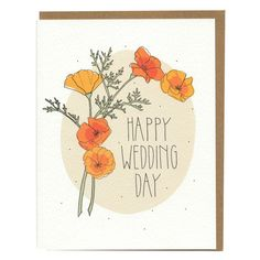 Little Otsu — Happy Wedding Day Card by Hartland Brooklyn $4.50