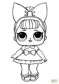 lol doll fancy glitter coloring pages printable and coloring book to print for free. Find more coloring pages online for kids and adults of lol doll fancy glitter coloring pages to print. Unicorn Coloring Pages, Cat Coloring Page, Online Coloring Pages, Coloring Pages For Girls, Disney Coloring Pages, Animal Coloring Pages, Coloring Pages To Print, Free Printable Coloring Pages, Free Coloring Pages