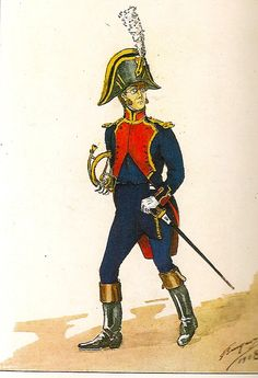 French; Imperial Guard, Foot Artillery, Musician, 1810