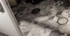 łazienka heksagony - Szukaj w Google