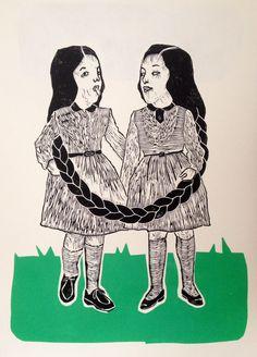 Monika Petersen - Girls on grass