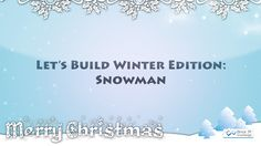 Too cold outside to build a snowman? We have the solution #snow https://youtu.be/wIGaLd8smzA