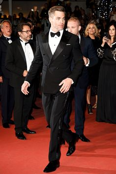 Chris Pine at the Cannes Film Festival in May 2016.