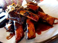Tangy BBQ Ribs recipe.  Great for summer if not July 4th!