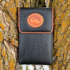 Dooney & Bourke Bags | Vintage Dooney Bourke Black Leather Wallet | Poshmark Vintage Leather, Black Leather, Handmade Leather, Leather Shoulder Bag, Leather Wallet, Shoulder Bags, Dog Clip, Leather Handbags, Leather Bags