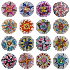 Little Island Quilting: The Camelot Quilt (technically there but not quite) - Circle Quilt Patterns, Patchwork Quilt Patterns, Circle Quilts, Star Quilts, Mini Quilts, Square Quilt, Quilt Blocks, Block Patterns, Quilting Patterns