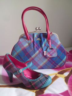 Ness Bag And Shoes By December2017 Deviantart On Scottish Plaid