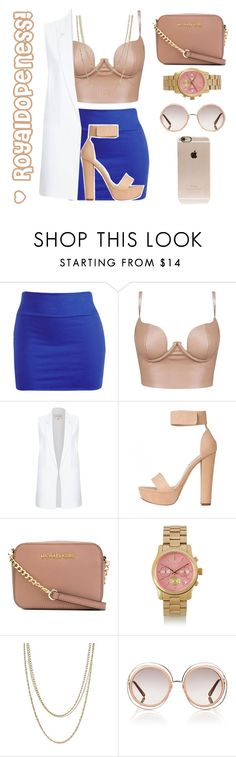 """""""Something New&Very Cute!"""" by royaldopeness ❤ liked on Polyvore featuring Wet Seal, River Island, MICHAEL Michael Kors, Michael Kors, ASOS, Chloé, Incase, women's clothing, women and female"""