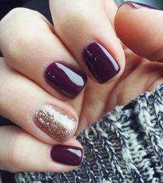 Just did my nails like this! Are you looking for fall acrylic nails colors art designs that are excellent for this fall? See our collection full of fall acrylic nails colors art designs ideas and get inspired! Fall Nail Art Designs, Cute Nail Designs, Short Nail Designs, Colorful Nail Designs, Nails Polish, Nail Polish Colors, Manicure Colors, Winter Colors, Nail Colors For Fall