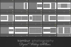 PSD Wedding Album Template 15 spread by KamburPhotography Wedding Album Layout, Wedding Album Design, Wedding Albums, Layout Design, Web Design, Logo Design, House Design, Photo Arrangement, Bridal Henna