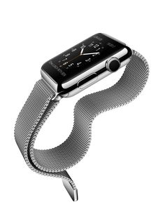 Product: Apple Watch Designer: Jony Ive & Marc Newson Company: Apple Year: 2015 ___ Something different for Apple. Choices. The Apple Watch came in a crazy amount of options with it's different styled bands, and finishes. Moreover, its simplistic squared design got some flack from it's competitor's round screens.