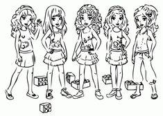 lego friends coloring pages | lego friends ausmalbilder, lego geburtstag und ausmalbilder