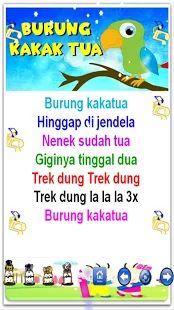 Lagu Anak Anak- gambar mini tangkapan layar