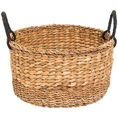 Land: Bangladesh Storlek: Ø 39  cm, H 22  cm Material: Hoglafiber, bomull