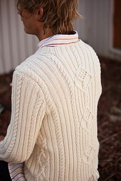 Ravelry: Point Gammon Pullover pattern by Elinor Brown