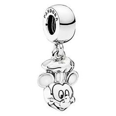 Chef Mickey Mouse Charm by PANDORA - Epcot International Food & Wine Festival | Disney Store PANDORA and Chef Mickey have cooked up a silvery surprise in celebration of the Epcot International Food & Wine Festival. This sculptured sterling silver charm is sure to whet a collector's appetite.