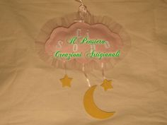 Coccarda nascita a forma di nuvola https://www.facebook.com/IL-Pensiero-Creazioni-Artigianali-308024965911130/?ref=bookmarks